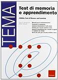 Test TEMA. Test di memoria e apprendimento
