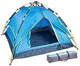 Semptec Urban Survival Technology Campingzelt: Automatik-Kuppelzelt für 3-4 Personen, 3.000/5.000 mm Wassersäule (Tent)