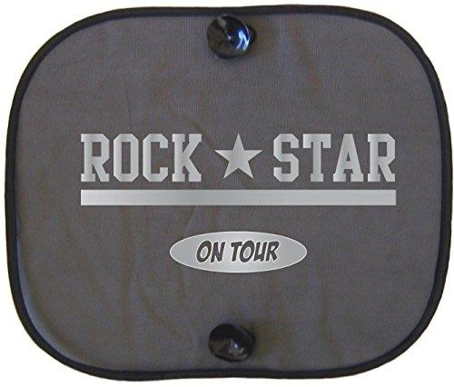 ROCK STAR SILVER ON TOUR Auto Sonnenschutz für Kinder