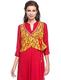 Stop by Shoppers Stop Womens Surplice Neck Printed Koti