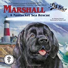 Marshall: A Nantucket Sea Rescue - A Pet Tales Story (with audiobook CD) by Whitney Stewart (2008-08-15)