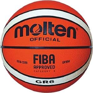 Molten Ballon de basket d' entraînement nouveau design 2 ORANGE/CREME