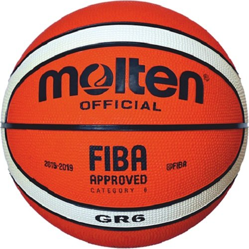 Molten Basketball BGR5, ORANGE/CREME, 6