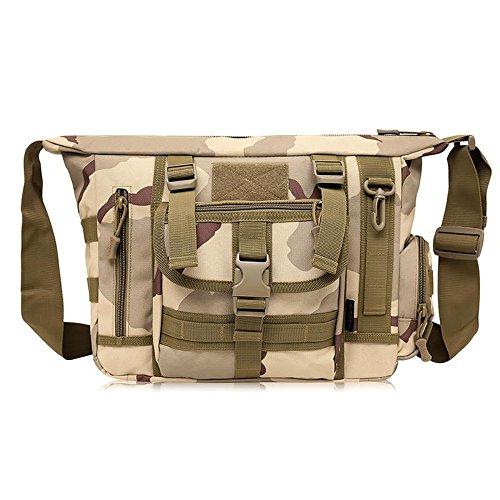 MJ Camouflage Schulterbeutel / Männer Computerbeutel / Männer Kurierbeutel / im Freiengebirgskletternfreizeitpaket 2