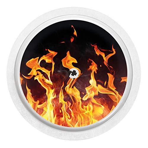 Flammen - Sticker Aufkleber für FreeStyle Libre Sensor -
