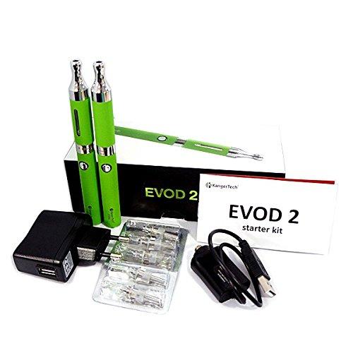 oppel Starterset KangerTech Dual Coil 1,5 Ohm, e-Zigarette (grün) ()
