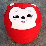 taburete del asiento inflable juguetes hogar decorado con dibujos animados para adultos ( PATRÓN : # 3 )