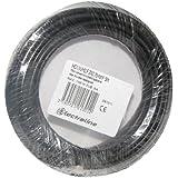 Electraline 60113028D - Cable eléctrico (25 metros), color negro