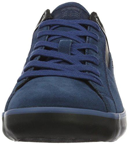 Geox Herren U Box C Low-Top Blau (OCEAN/BLACKCG49B)