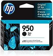 HP 950 - Cartucho de Tinta para impresoras (Negro, Estándar, 1000 páginas, 10-90%, -40-60 °C, 5-35 °C)