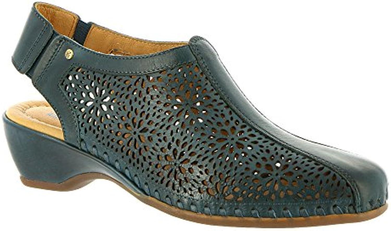 Pikolinos Sandale Blue Skin 696-1662 2018 Letztes Modell  Mode Schuhe Billig Online-Verkauf