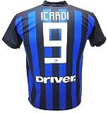 Maglia Icardi 2019 Inter Ufficiale stagione 2018/2019 Replica Autorizzata Mauro Icardi (L adulto)