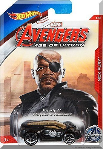 Hot Wheels Avengers Age of Ultron 1/8 Nick Fury Ultra Rage by Hot Wheels