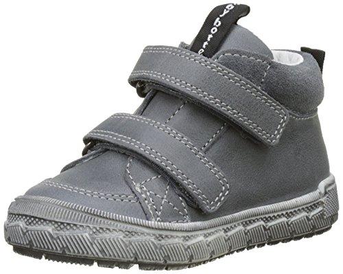 BabybotteAcrobate - Pantofole a Stivaletto Bambino , grigio (grigio), 25 EU