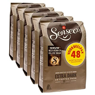 Senseo Extra Strong, Nieuw Design, Pack of 5, 5 x 48 Coffee Pods