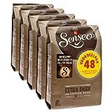 Cialde di caffè Senseo Extra Dark, dall'aroma forte, intenso e pieno, 5 confezioni da 48 pezzi l'una.Senseo extra è un caffè dall'aroma forte, intenso e pieno. Esso non lascia tuttavia alcun retrogusto amaro. Per questo è particolarmente adat...