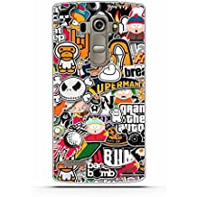 LG G4 beat Funda, LG G4S Funda, Gift_Source [ Pequeña caricatura ] teléfono caso cubrir volver piel protectora Shell Carcasas Funda Silicona Suave Funda Shock- Absorption and Anti-Scratches para LG G4 Beat / G4S