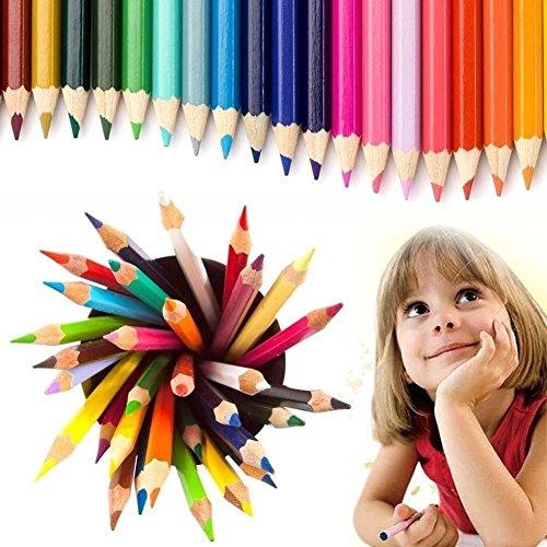 Eco-freundliche Linie (Sketching Bleistift, VastSean 48 Farben zeichnen Bleistifte Künstler Sketch Adult Malbücher Secret Garden Coloring Book Faber-Castell, Eco-Bleistifte)