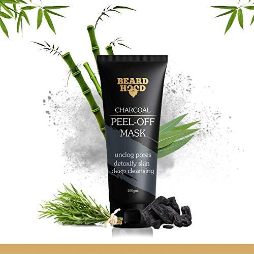 6. Beardhood Charcoal Peel-Off Mask