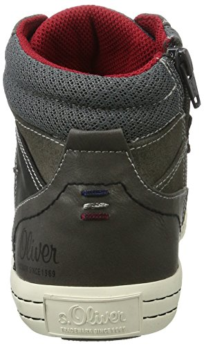 s.Oliver Jungen 55101 Sneaker Grau (Grey)