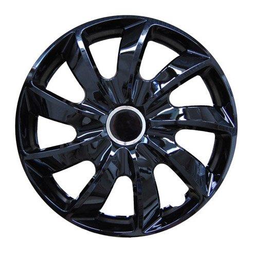 Radkappen STICK Schwarz 14 Zoll passend für Hyundai Accent, Atos, Coupe, Getz, H1, i10, i20