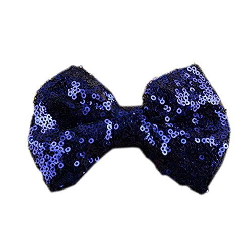 Clip photo Props Belle Paillettes Hair Bow Hair Surker 5 pcs Kid Baby Girl