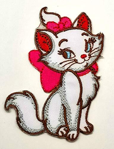 Powerwolf2008 Marie Cat Kätzchen Kitty Disney Patch Symbol Jacke, T-Shirt, Aufnäher, besticktes Schild, Kostüm