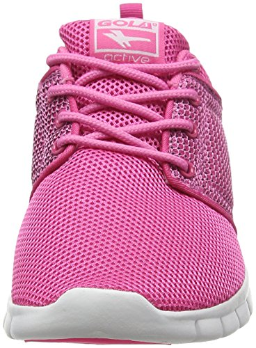 Gola Angelo, Chaussures de Running Entrainement Femme Rose (Pink/White)