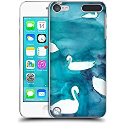 Head Case Designs Officiel Mai Autumn Cygnes Animaux Coque Dure pour l'arrière Compatible avec iPod Touch 5G 5th Gen