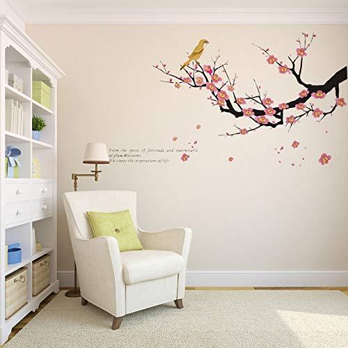 DADADUR Hauptdekoration Wandaufkleber DIY wandtattoo Plum Tree Branches Love Birds wandaufkleber Schlafzimmer Kunst wohnkultur hohe qualität adesivo de Parede Poster -
