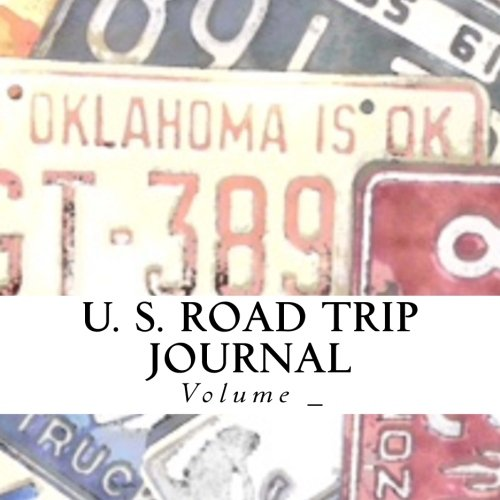 U. S. Road Trip Journal: Oklahoma Cover (S M Road Trip Journals)