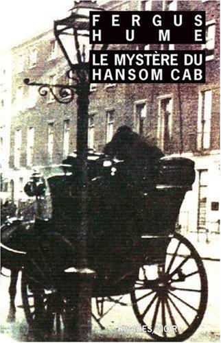 Le Mystère du Hansom Cab par Fergus Hume