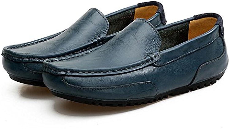 Paar Schuhe Unisex Leder Fruumlhling Sommer Erbsen Schuhe Herbst Comfort Loafers  Slip Ons Wanderschuhe Split Joint