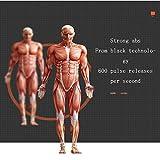 Hlidpu Muskel Stimulation Muskel Konditionierung Gurt Fettbrenner Gerät 6-Modus und 10-Level-Stimulation-Tragbare USB-Ladegerät - 4