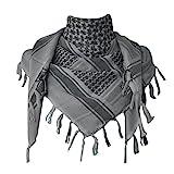 Explore Land 100% algodón Shemagh militares Desert Tactical Keffiyeh bufanda abrigo...