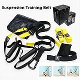 Suspension Training Trainer Fitness Straps Belt Home Gym Exercise Einsatz für Innen- und Outdoor-Training - für ein Ganzkörpertraining
