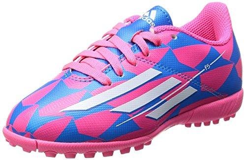 Adidas F5TF J Bottes ROSA AZZURRO