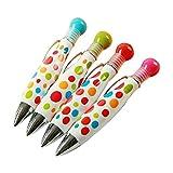 Cosanter 5 x Kugelschreiber Ideale Geschenk Stift kreative Geschenke Candy Farbe Set