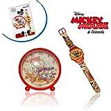 Montre numérique + réveil idée cadeau MICKEY MOUSE - Disney WD10436 –MWS1731