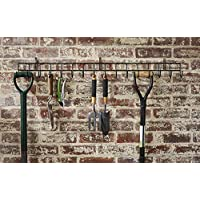 Direct Online Houseware Extra-Long Tool Rack In Black Powder Coating