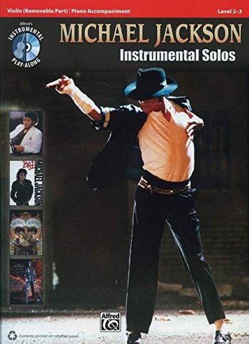 Michael Jackson Instrumental Solos für Violine (Buch & CD) (Pop Instrumental Solo Series) (Violin Basics)
