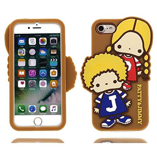 iPhone 6S Copertura,iPhone 6 Custodia,Tre ragazzi del fumetto 3D bella copertura molle della cassa del silicone di TPU della pelle protettiva della pelle Case cover per iPhone 6S / 6 4.7 inch # 2