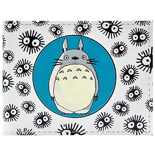 Cartera de Studio Ghibli My Neighbour Totoro Personaje Blanco