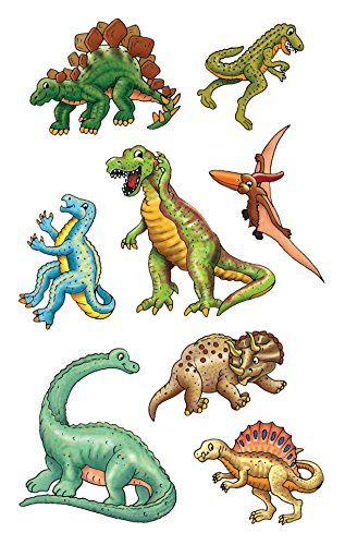 AVERY Zweckform 53145 Kinder Sticker Dinos 24 Aufkleber