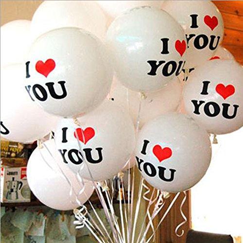 ex Ballon Hochzeit Verlobung Geburtstag Jahrestag Decor ()