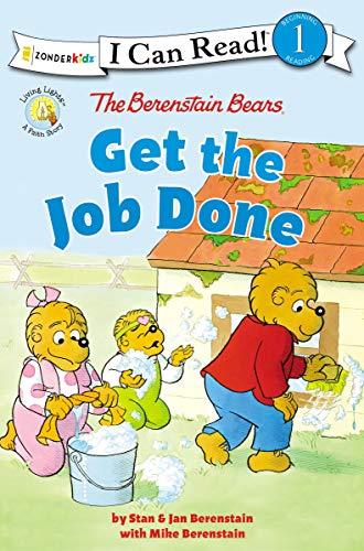 The Berenstain Bears Get the Job Done: Level 1 (I Can Read! / Berenstain Bears / Living Lights) (English Edition)
