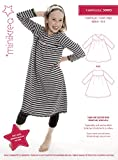 MAGAM-Stoffe ''T-Shirt-Kleid'' Schnittmuster für Kinder | Gr. 104-146cm | inkl. Aufnäher ''Enno'' | 3x0003
