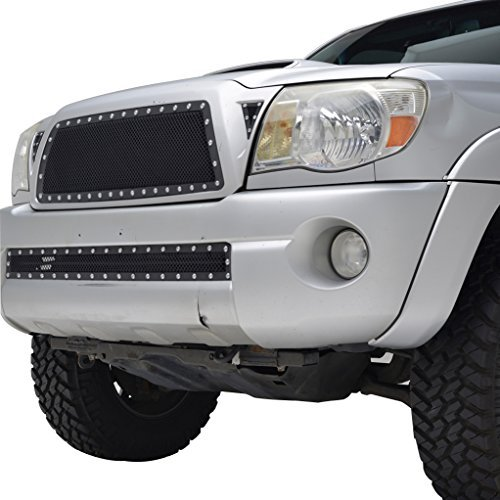 e-autogrilles-05-11-toyota-tacoma-evolution-black-stainless-steel-wire-mesh-grille-46-0722-by-e-auto