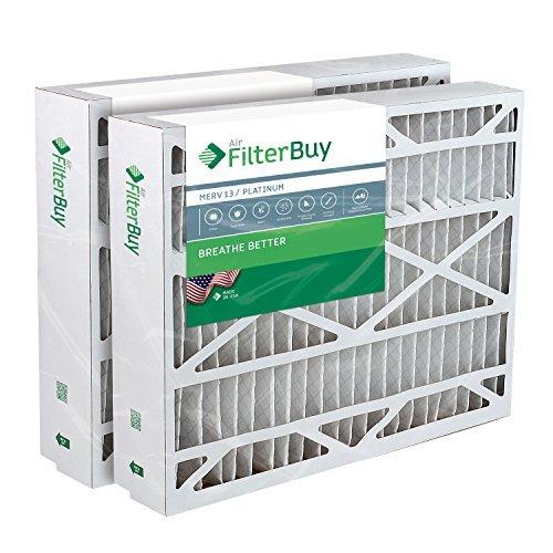 17,5x 27x 5Trane passgenau bayftfr17m Ofen Filter/Air Filter. (2Pack) MERV 13 -