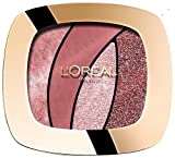 L'Oréal Paris Color Riche Quads Eyeshadow, Sed Rose- Lidschatten Palette für ein intensives, sinnliches Farbergebnis - exklusive Red Carpet Limited Edition - 1er Pack (1 x 2,5g)